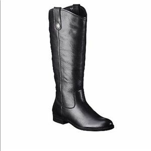 Merona leather riding boots